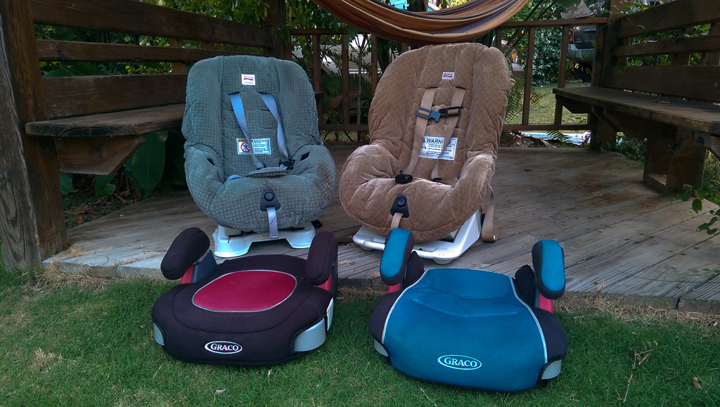 Car Seats at Pura Vida